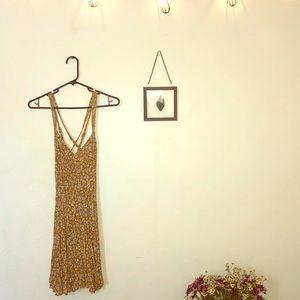 Comfy, flowy, floral print dress!